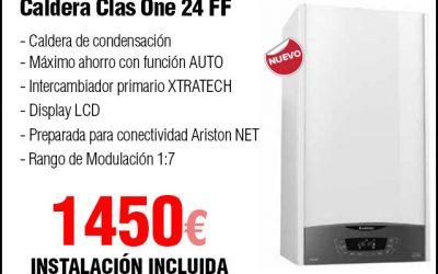 Oferta Caldera de Gas natural Ariston Class One